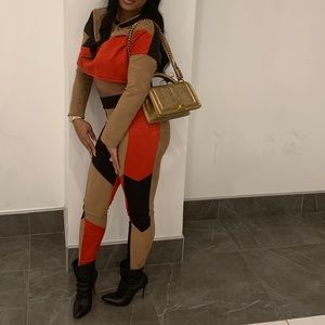 Other - Color block 2pcs outfit